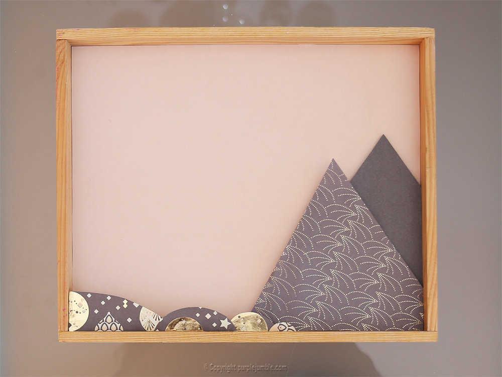 Medium diy cadre licorne papier decoupe 6