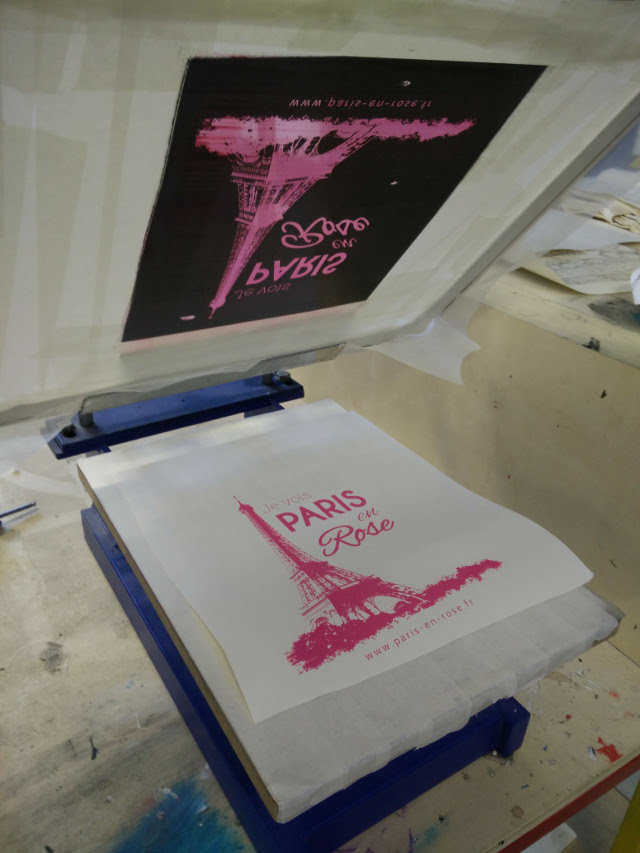 Medium screen printing at techshop 14