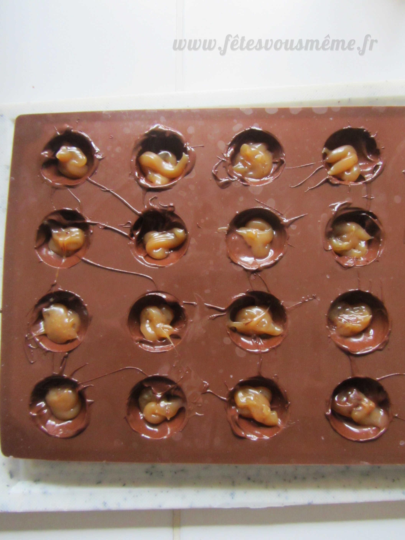 Medium chocolat coeur caramel  st valentin 2