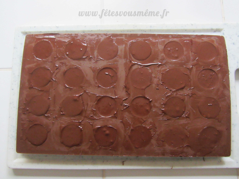 Medium chocolat coeur caramel  st valentin 3