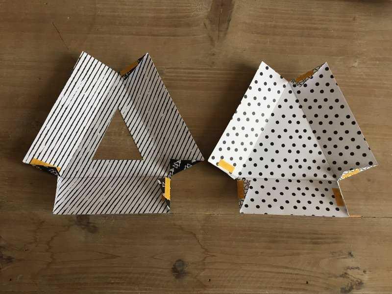 Medium boite triangle  3
