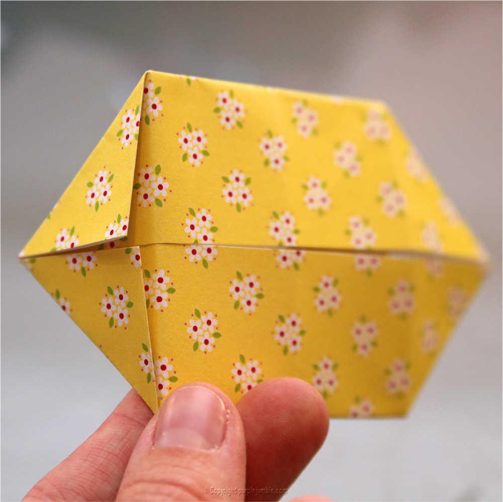 Medium diy lapin origami 12