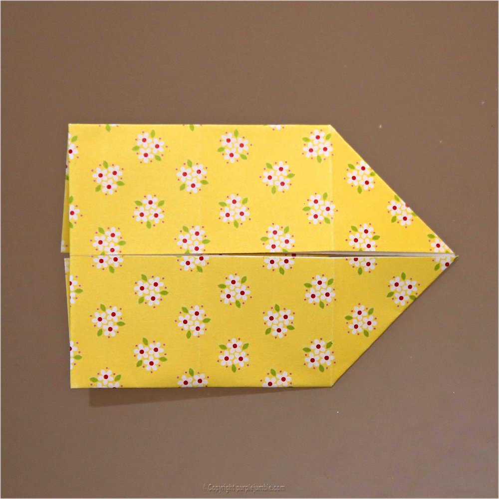 Medium diy lapin origami 13