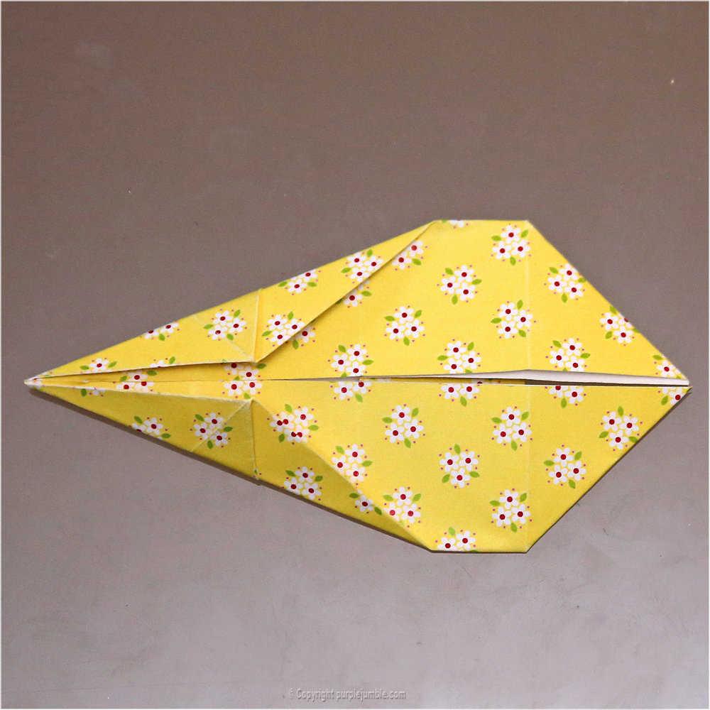Medium diy lapin origami 16