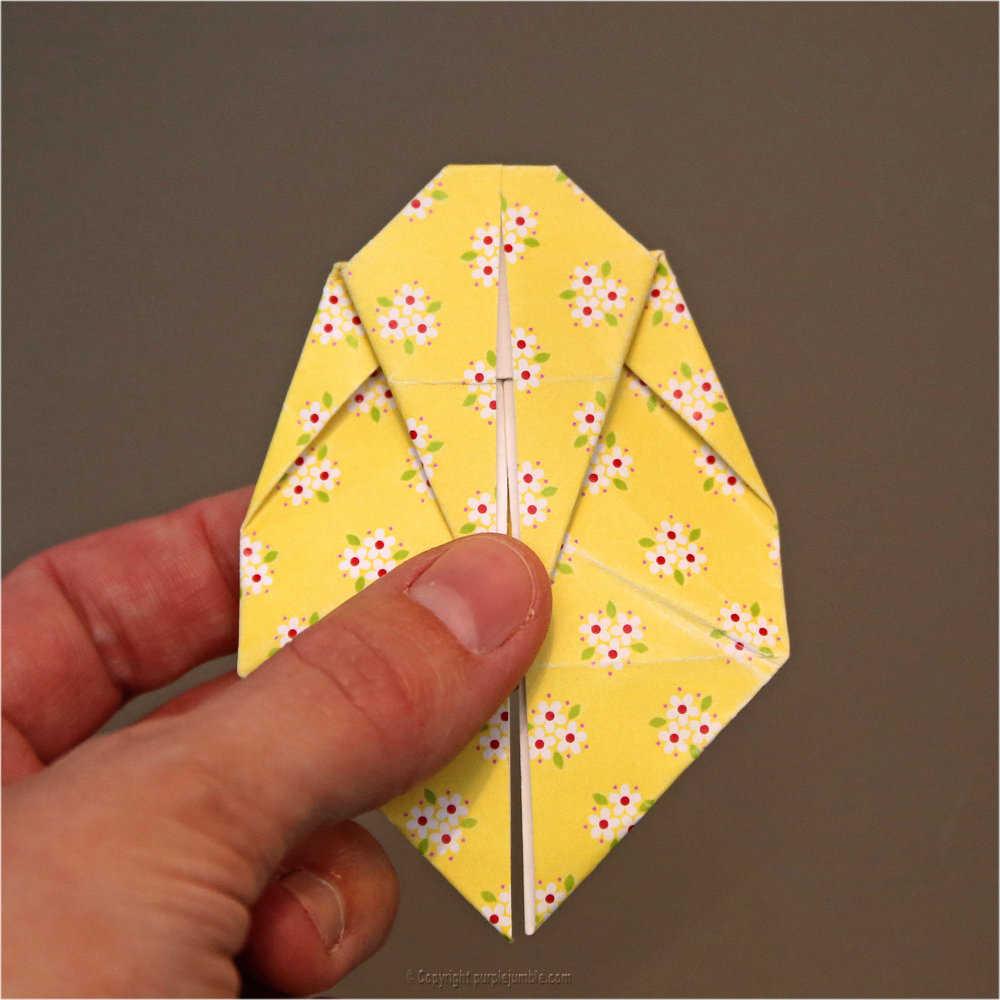 Medium diy lapin origami 18