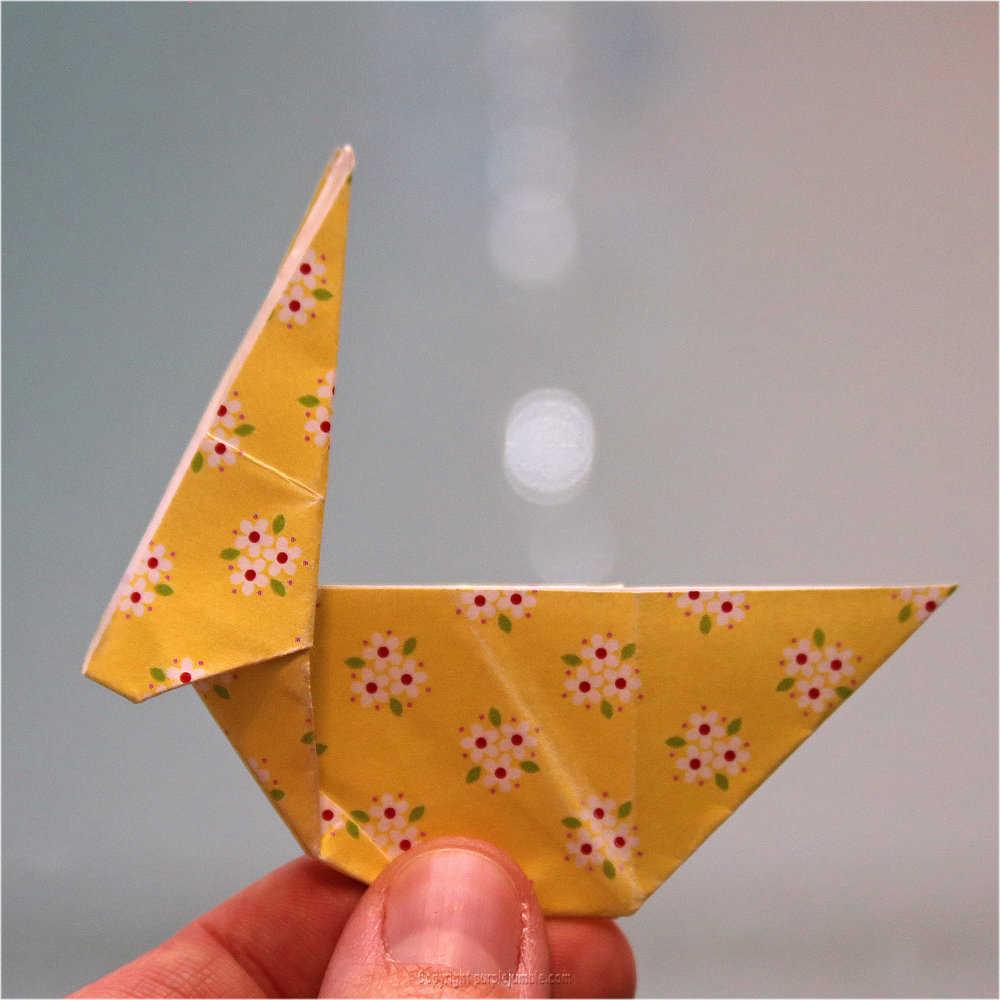 Medium diy lapin origami 21