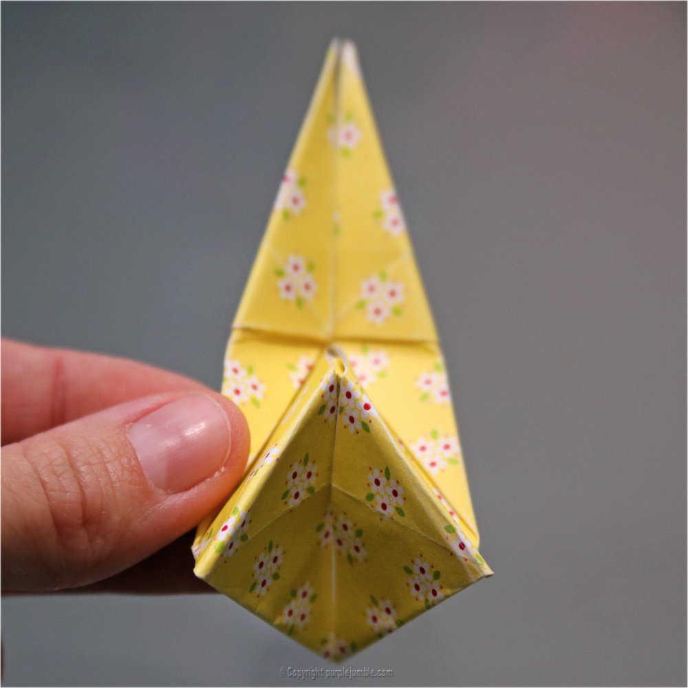 Medium diy lapin origami 23