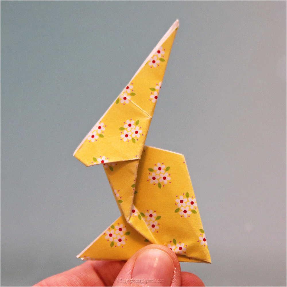 Medium diy lapin origami 24