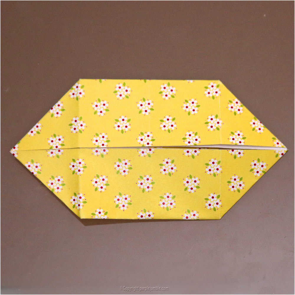 Medium diy lapin origami 14
