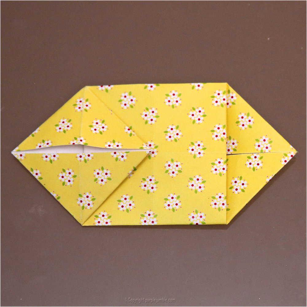 Medium diy lapin origami 15