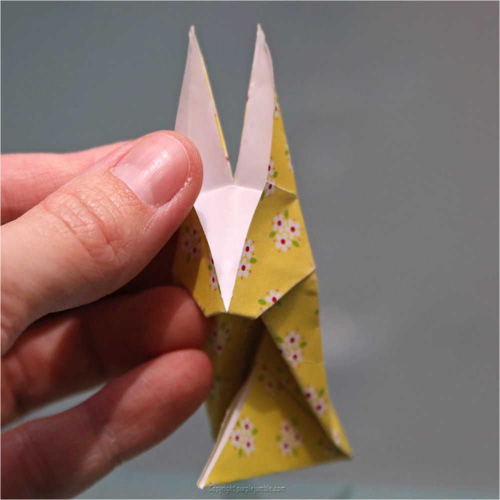 Medium diy lapin origami 25