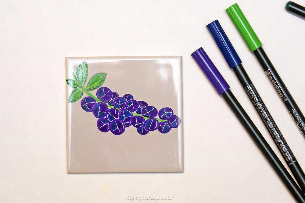 Medium diy ceramique fruits geometriques 9