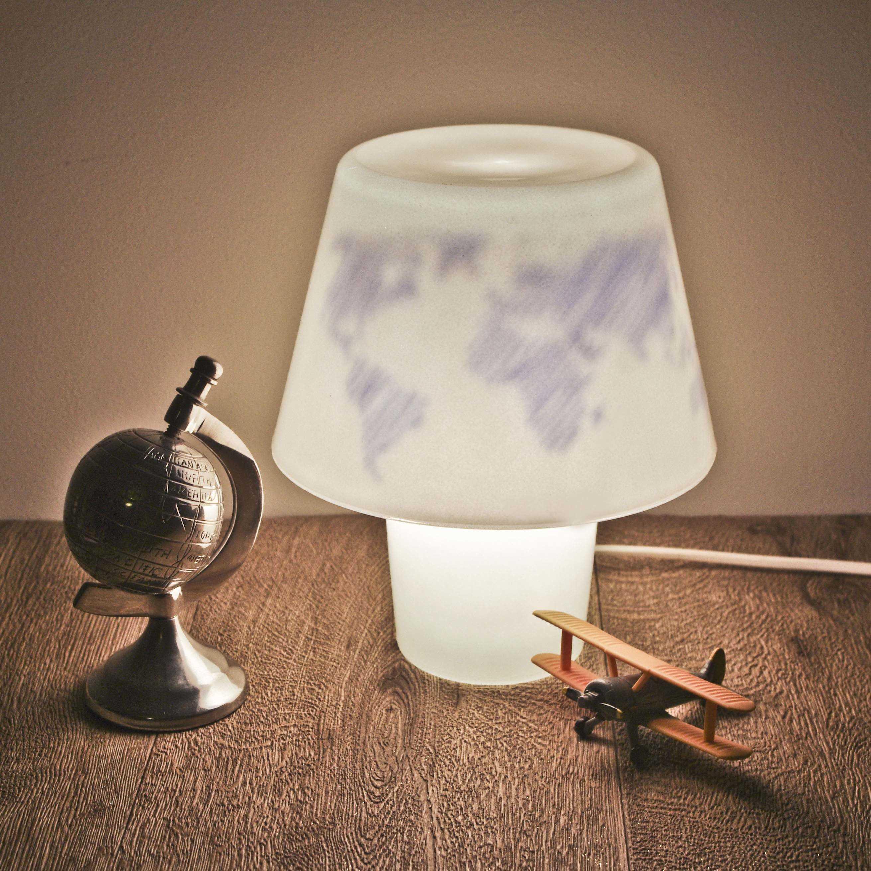 Medium lampe magique papiers et petits mots 9