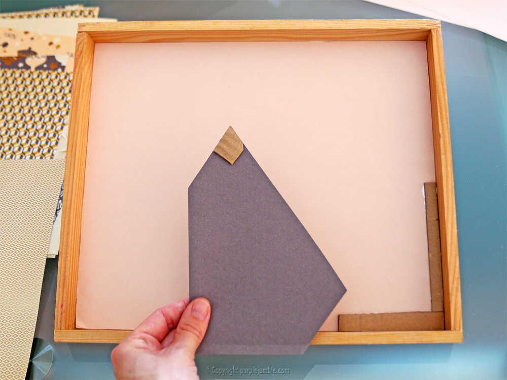 Medium diy cadre licorne papier decoupe 3