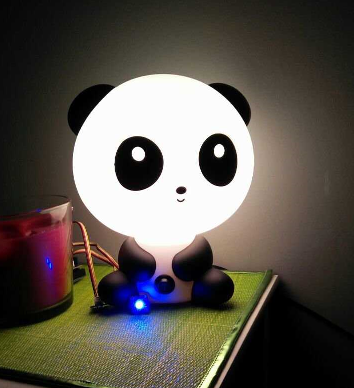 Medium lampe panda