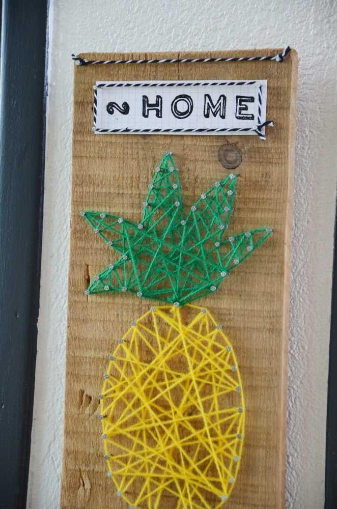 Medium diy porte cles mural ananas creamalice17
