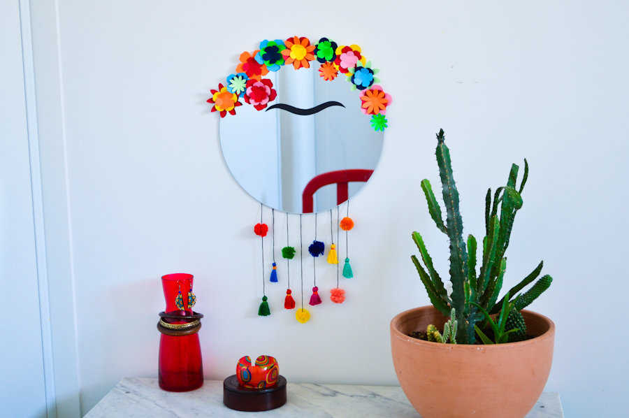 Medium diy miroir frida kahlo
