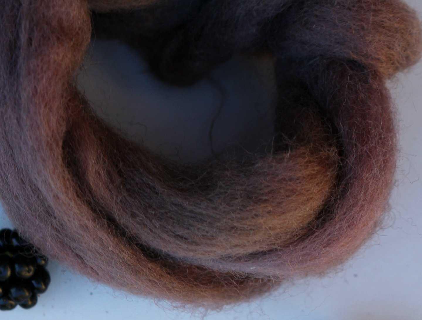 Medium teindre la laine