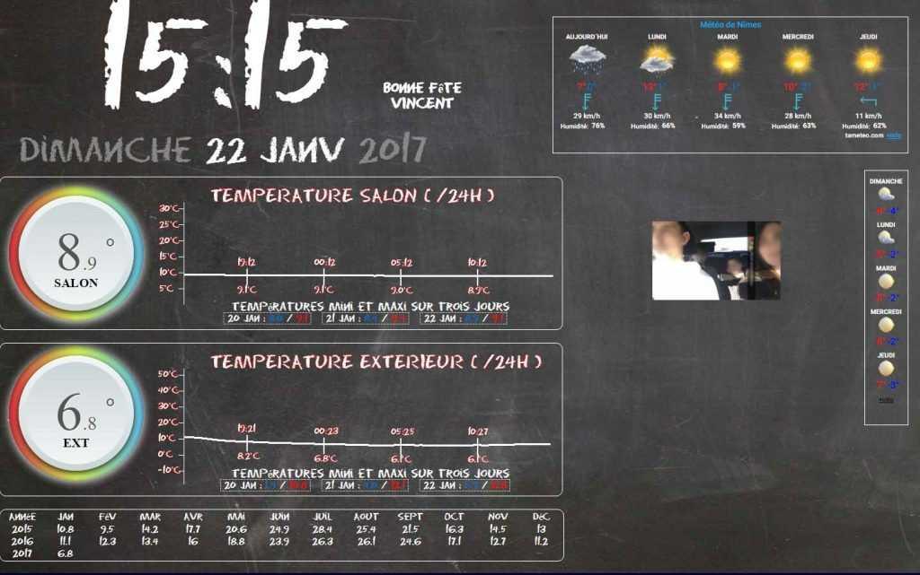 Tutoriel diy temp rature ext rieur en 2 4ghz for Temperature exterieur