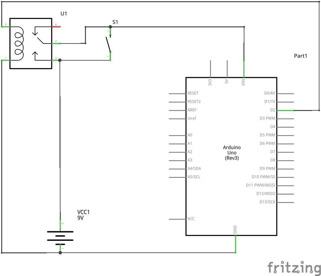 Medium self shutting down arduino schem 1
