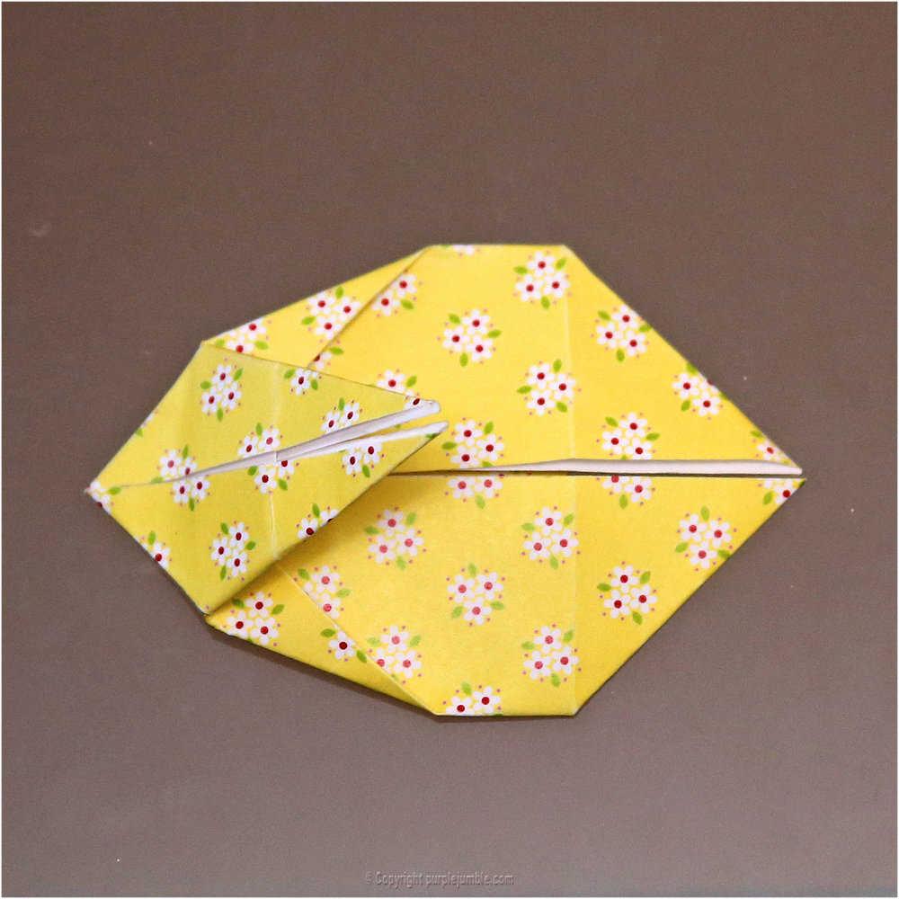 Medium diy lapin origami 17