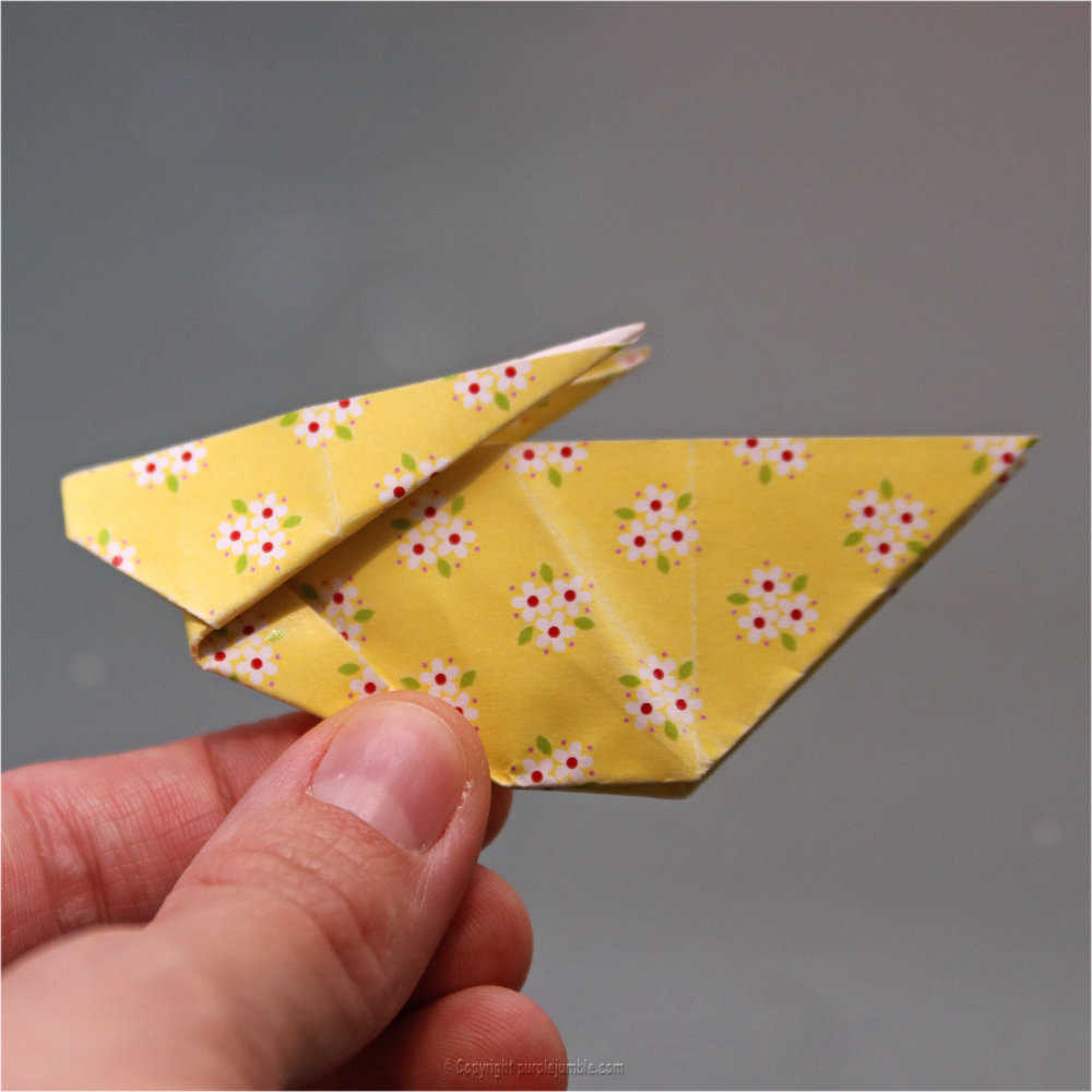 Medium diy lapin origami 19