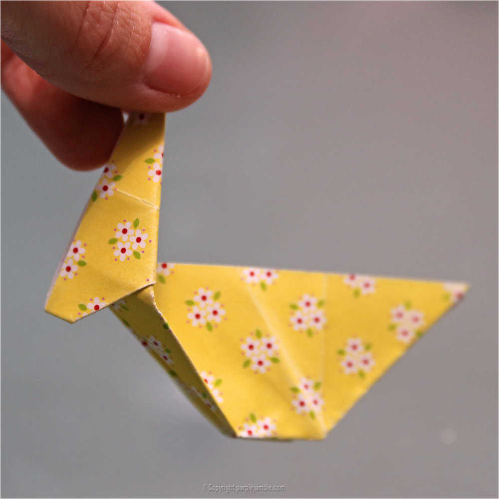 Medium diy lapin origami 20