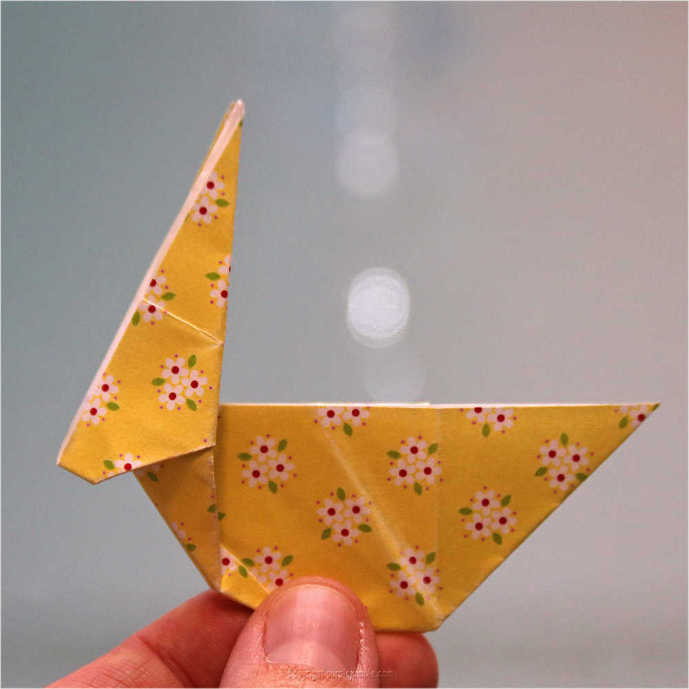 Medium diy lapin origami 21