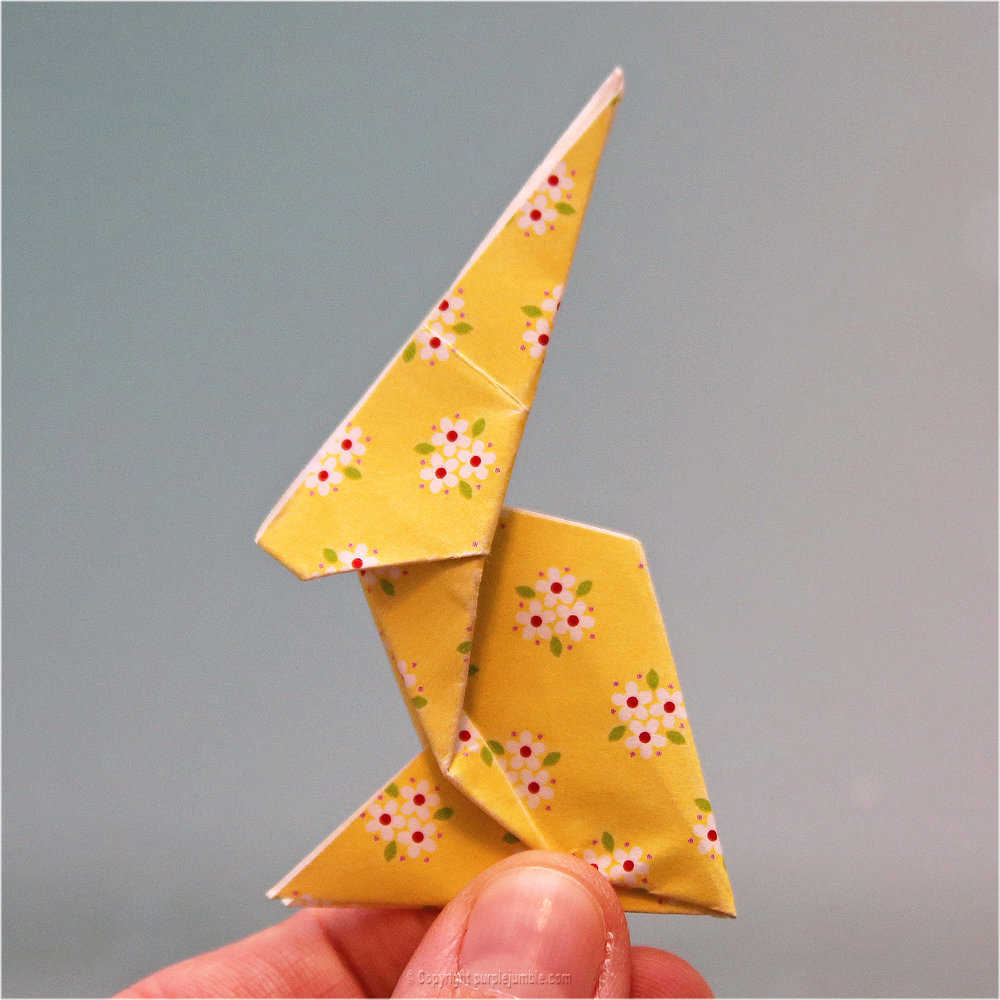 Medium diy lapin origami 24