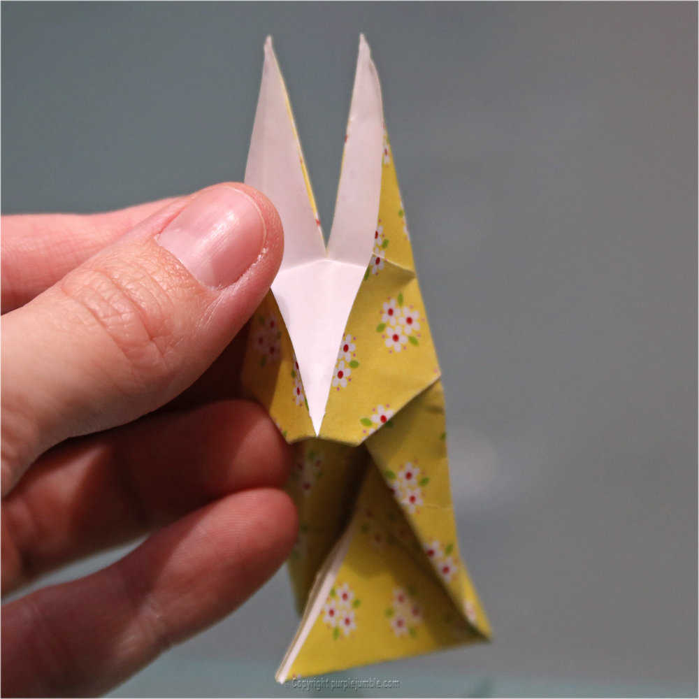 Medium diy lapin origami 25