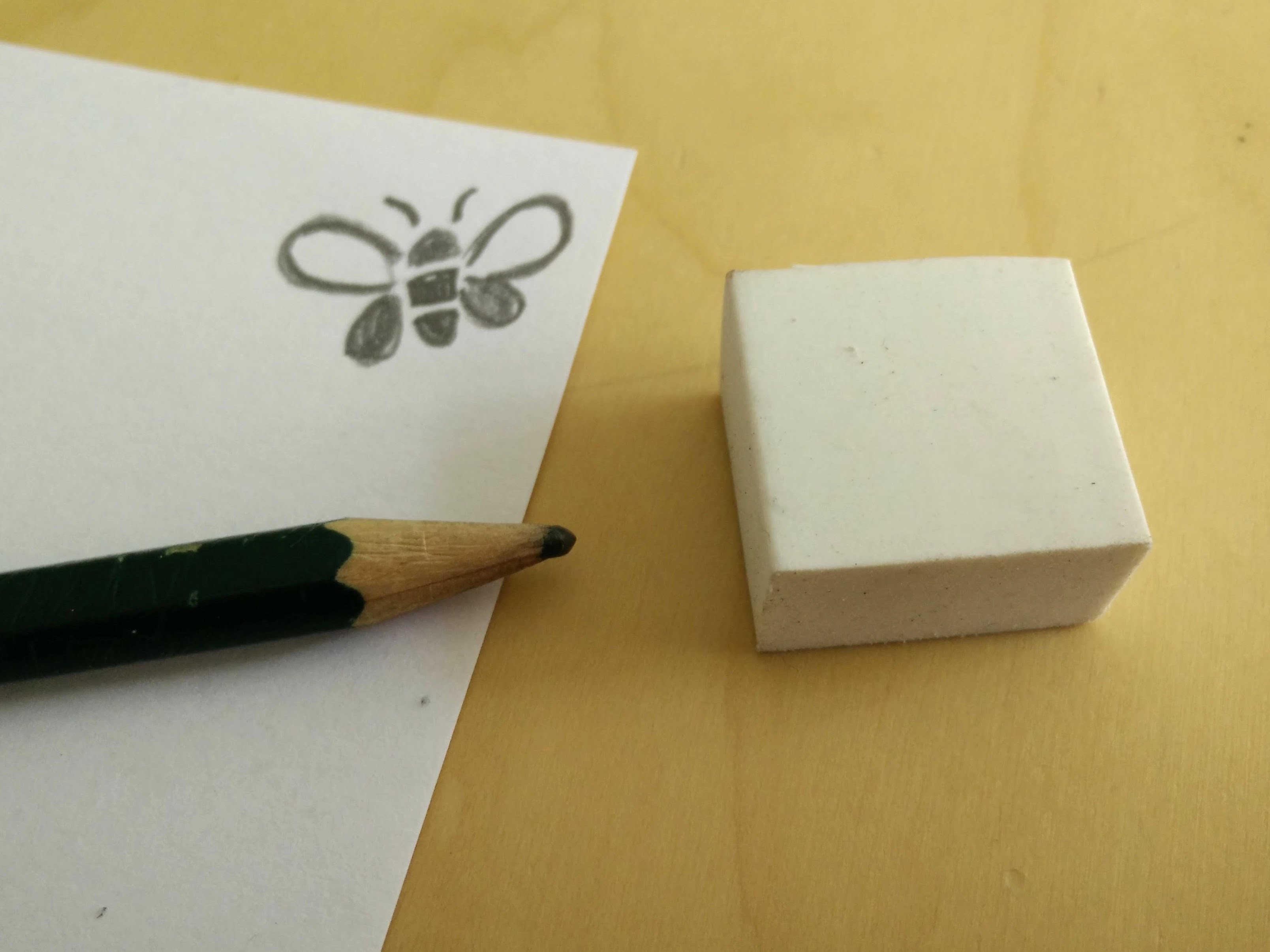 Medium hand carved rubber stamps 15