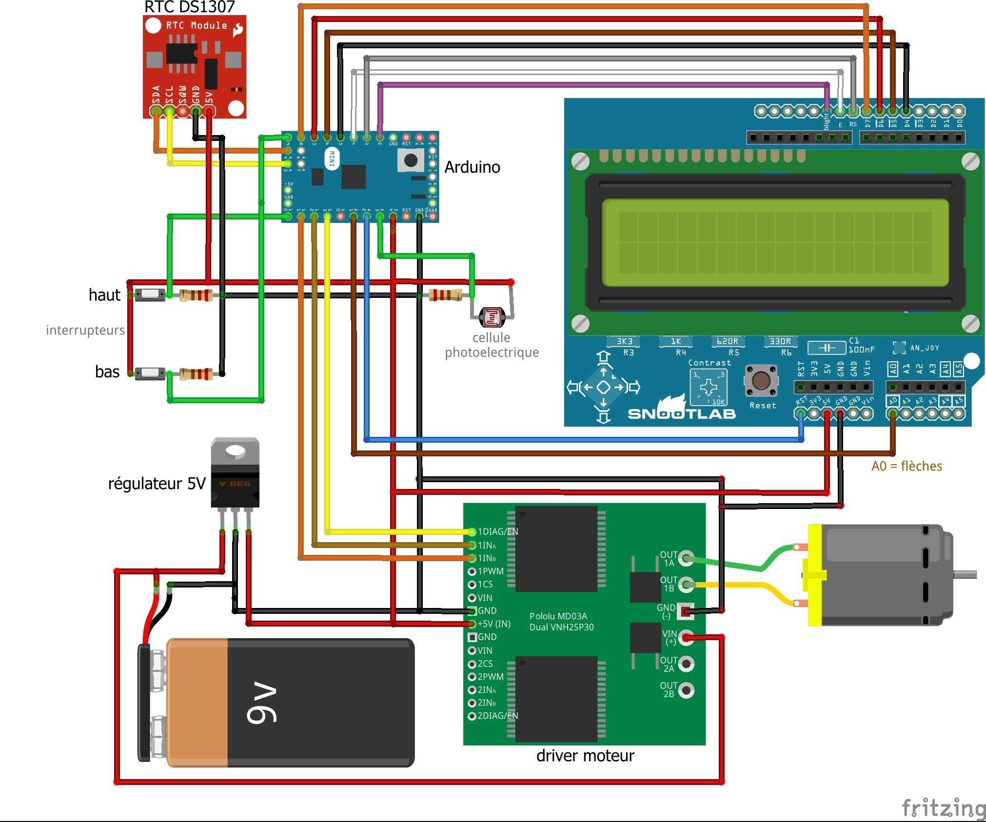 Tutoriel diy poulailler porte automatique - Fermeture automatique porte poulailler ...