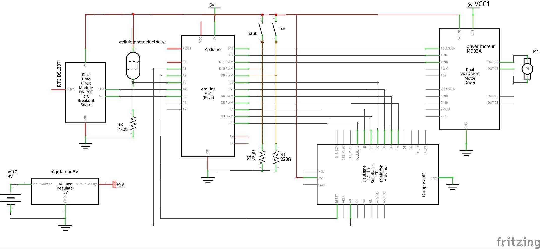Medium poulailler schema cablage