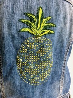 Medium broderie ananas vestejean gd